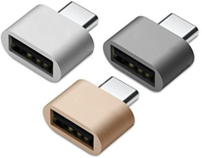 DC Micro USB OTG Adapter(Pack of 3)