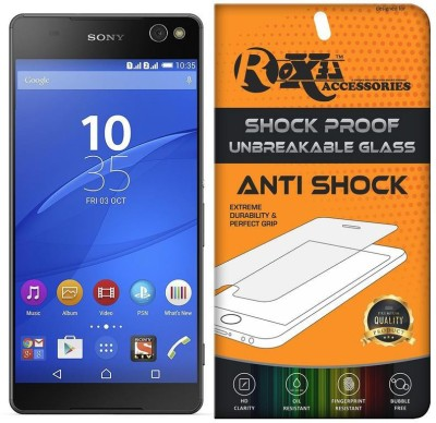 Shopsji Impossible Screen Guard for Impossible Glass, Screen Guard, 5D Impossible Glass for SONY XPERIA C3(Pack of 1)