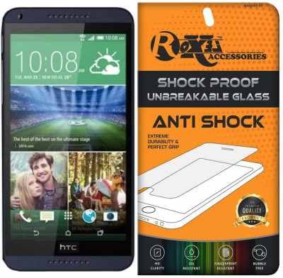Rr design Tempered Glass Guard for HTC_Desire_816(Pack of 1)