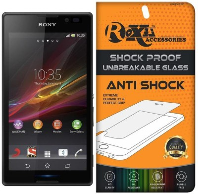 Roxel Screen Guard for Sony Xperia C(Pack of 1)