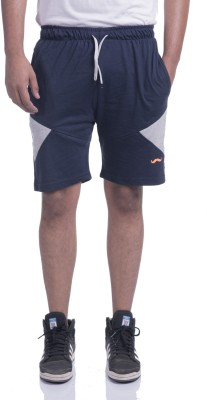 TRINITY JEANS COMPANY Solid Men's Blue Basic Shorts