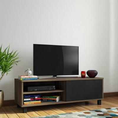 @home by Nilkamal Astero Engineered Wood TV Entertainment Unit(Finish Color - Walnut)