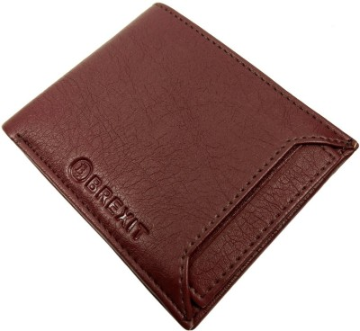 Slots 5 Artificial Leather Brexit Brown Wallet Men Card nOP80wk