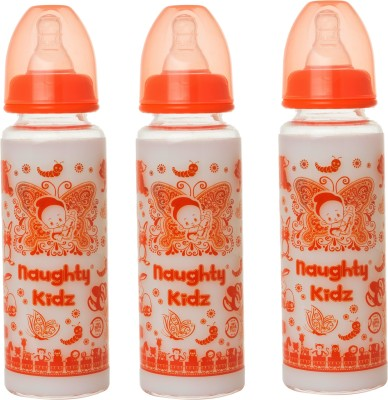 Naughty Kidz Bottle - 250 ml(ORANGE-250ML, ORANGE-250ML, ORANGE-250ML)