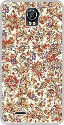 Casotec Back Cover for Intex Aqua Life II(Multicolor, Flexible Case)
