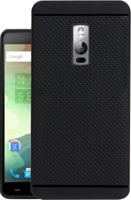 Jkobi Back Cover for OnePlus 2(Black, Rubber)