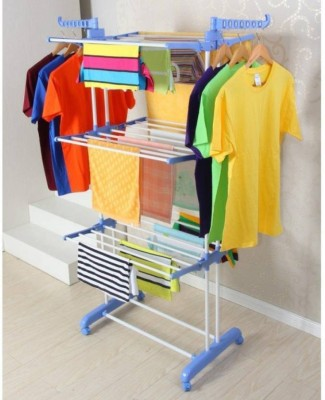 SUNDEX Made In India - Clothes Dryer King Jumbo, Stainless Steel Floor Cloth Dryer Stand(Multicolor)