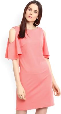 Harpa Women Blouson Pink Dress