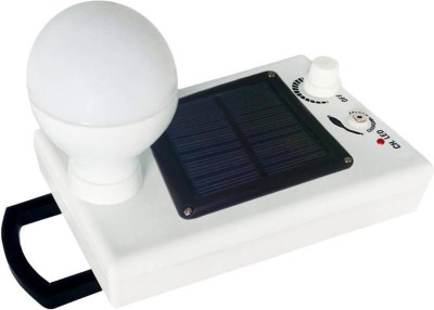 GLOWISH 12 LED Solar Bulb With Charge Rechargeable Emergency Light(White)