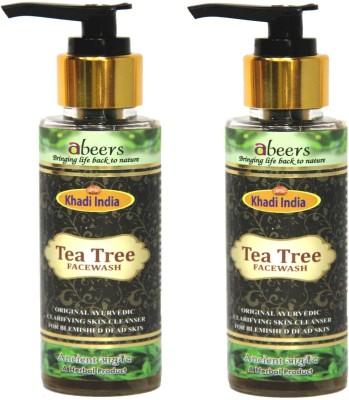 khadi abeers TEA TREE FACE WASH Face Wash(100 ml)