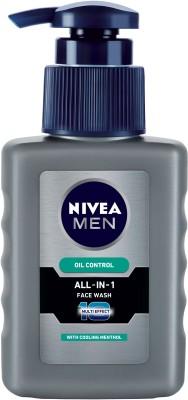 Nivea Men All-In-1 Oil Control Face Wash  (150 ml)