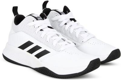 Adidas Shove White Basketball Shoes