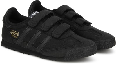 39% OFF on ADIDAS ORIGINALS Boys   Girls Velcro Sneakers(Black) on ... e619de356