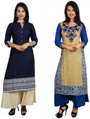 BB CREATIONS Casual Embroidered Women