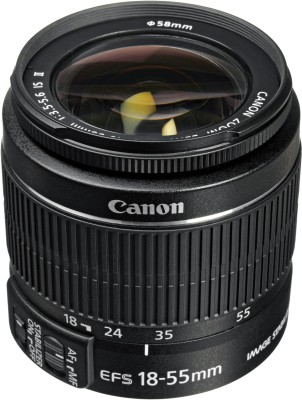canon EF S 18 55mm f/3.5 5.6 IS II Lens