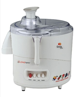 LONGWAY DURO SERIES DURO DLX JUICY 625 W Juicer(White, 1 Jar)