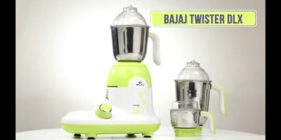 Bajaj TWISTER DLX 750 W Mixer Grinder(Multicolor, 3 Jars)