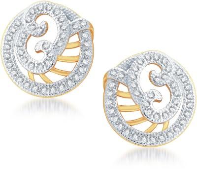 Karatcraft Yellow Gold 14kt Diamond Stud Earring