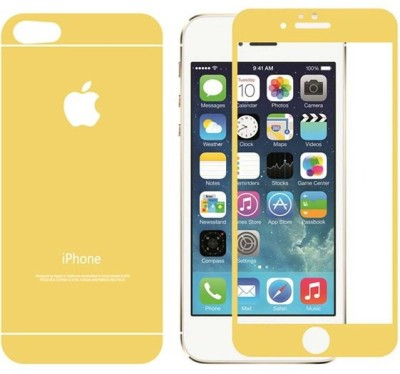Case Creation Front and Back Tempered Glass for Apple Iphone 5S / 5S / SE
