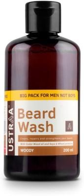Ustraa Beard Wash for Men - 200 ml(200 ml)