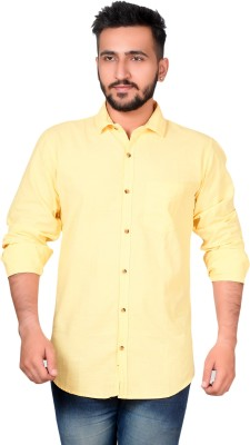 High Hill Boys Solid Casual Button Down Shirt