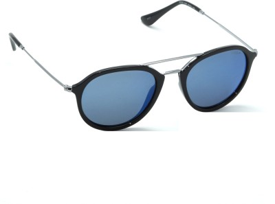 IDEE Aviator, Round Sunglasses(Blue)