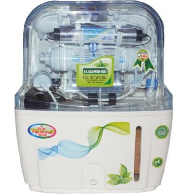 Rk Aquafresh India 33909772488 12 RO + UV + UF + TDS Water Purifier(White)  available at flipkart for Rs.5999