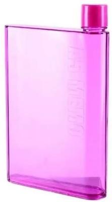 Online Store NoteBook Memobottle Plastic A5 Sports Bottle 420 ml Bottle(Pack of 1, Multicolor)