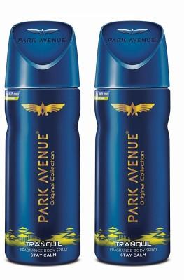 Park Avenue Tranquil Deodorant Spray  -  For Men  (200 g, Pack of 2)