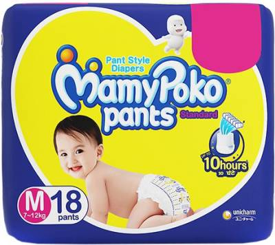 MamyPoko Pants Standard Diapers - M