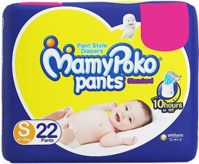 MamyPoko Pants Standard Diapers Pant Diapers - S