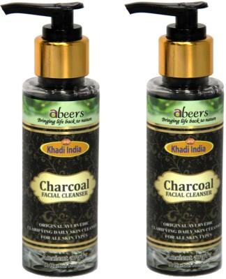 khadi abeers CHARCOAL FACIAL CLAENSER Face Wash(100 ml)
