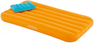 Intex Bed Inflatable Bed(Orange)