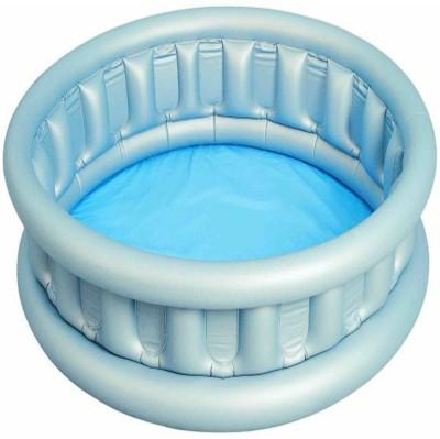jilani Kids Pool INFLATABLE PADDLING POOL Inflatable Pool(silver)