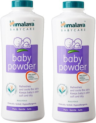 Himalaya Baby Powder, 400 gm (Pack of 2)