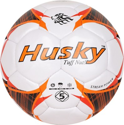 Husky football Size: 1 To 5 Football - Size: 5(Pack of 1, Multicolor)