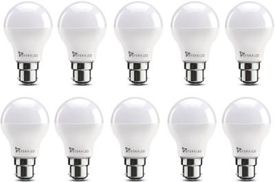 Syska 9 W Standard B22 LED Bulb(White, Pack of 10) at flipkart