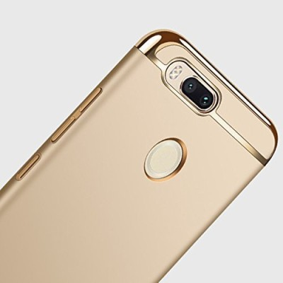 Avzax Back Cover for Mi A1(Gold, Shock Proof)