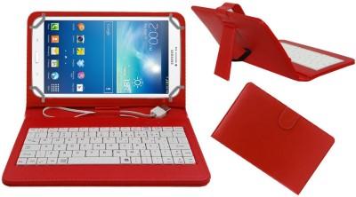ACM Keyboard Case for Samsung Galaxy Tab 3 T311(Red)