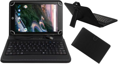 ACM Keyboard Case for Hp Pro 8 With Voice(Black, Cases with Holder, Artificial Leather)