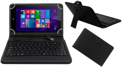 ACM Flip Cover for Hp Pro 8 With Voice(Black, Cases with Holder, Artificial Leather)