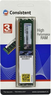 consistent ddr GDDR3 4 GB (Single Channel) PC (4gb ddr3)