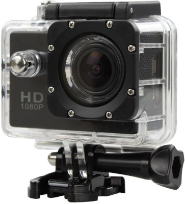 ALONZO SPORT ACTION CAMERA WIFI Sports Action Camera Ultra HD at 16 fps support 32GB SD Card, 1.5inch LCD Screen suitable with Android, IOS, Tablet, PC. Black Sports and Action Camera(Black, 12 MP)
