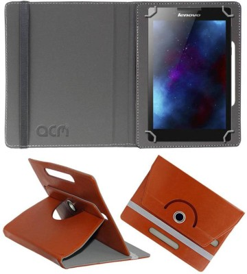 ACM Book Cover for Lenovo Tab 2 A7-30hc(Brown, Cases with Holder)