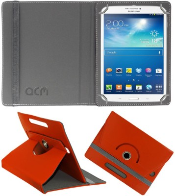 ACM Flip Cover for Samsung Galaxy Tab 3 T311(Orange, Cases with Holder)