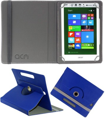 ACM Flip Cover for Acer Iconia Tab 8 W1-810(Blue, Cases with Holder)