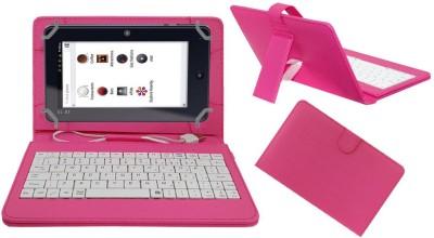 ACM Keyboard Case for Iball Slide I7218(Pink, Cases with Holder)