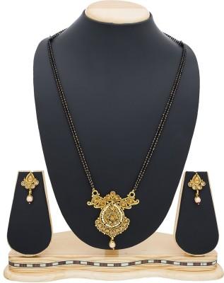 Zeneme Latest Fashionable American Diamond Alloy Mangalsutra