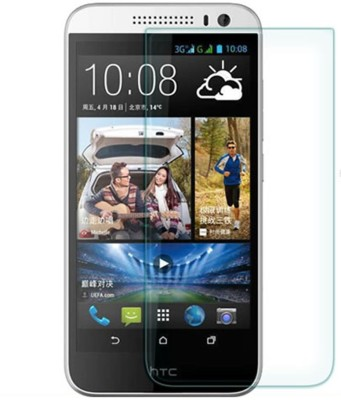 Ultra Clear Tempered Glass Guard for HTC Desire 816(Pack of 1)