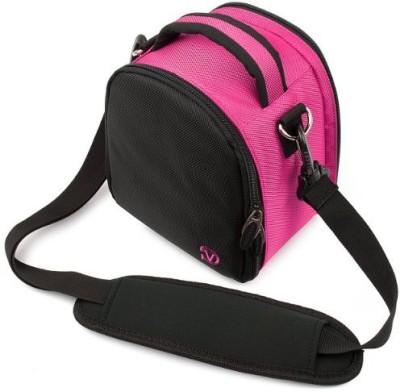 Vangoddy Laurel Camera Bag - Sony Cyber - Shot Dslr Digital Cameras - IN_camlea039_k3  Camera Bag(Pink)  available at flipkart for Rs.4337